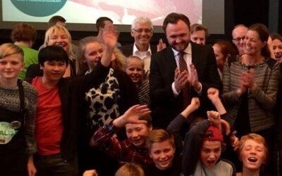 Haahrs Skole ved Svendborg vinder Madkamp