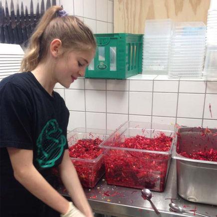 Amager Fælled skole – en af madskolerne i København
