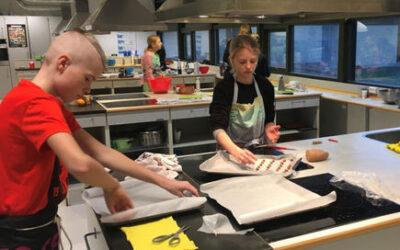 Madspild er en del af undervisningen på Mosedeskolen i Greve