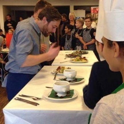 Elever i Gladsaxe er mestre i klimavenlig madlavning