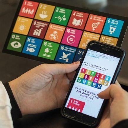 Digitalt læringssite om FN's Verdensmål