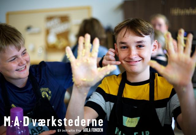 Tilbage i skolekøkkenerne med Arla Fondens MADværkstederne